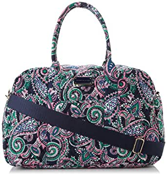 Tommy Hilfiger Bianca Paisley Duffle Bag,Pink/Green Bianca Paisley Print,One Size