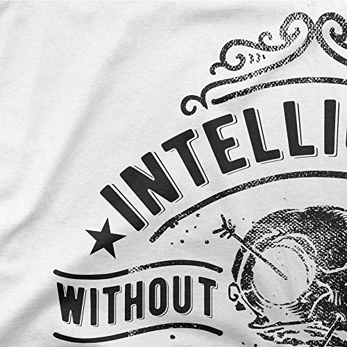 Intelligence Without Ambition Is Like A Beard Without Wings Motivation Femme T-shirt