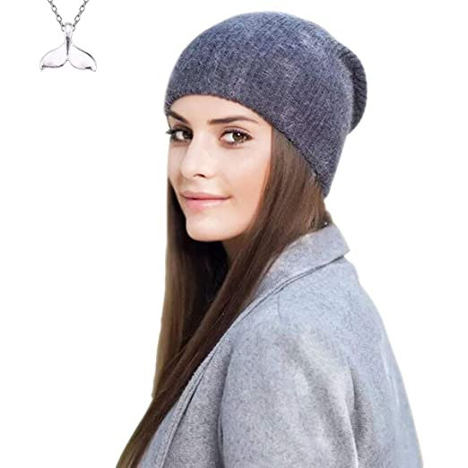 a5a650dba7ab8 Image Unavailable. Image not available for. Color  2018 Premium Cashmere  Wool Beanie Hat – Warm ...