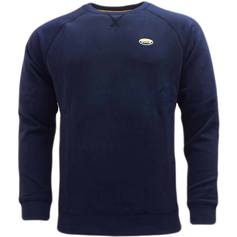 Ucla Sweatshirt - Soft Cotton Crew Neck Jumper Peacot