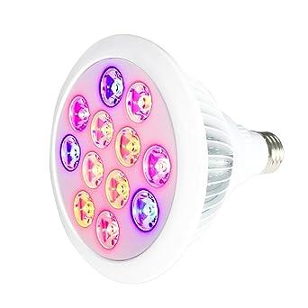 E27 Croissance Intérieur 3 12 Led Lampe Plante Bleu En De 9 Ampoule N8mnw0v