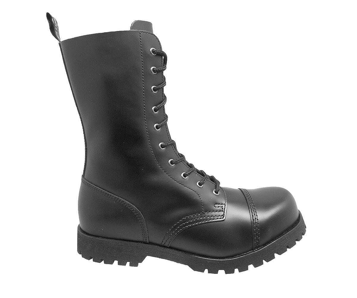 Stiefel & & & Braces Stiefel 10-Loch Rangers Schwarz f3ac30