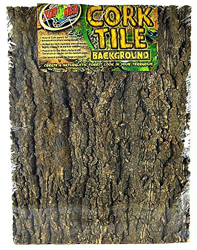 Zoo Med Natural Cork Tile Background, 18 x 24-Inch by Zoo Med