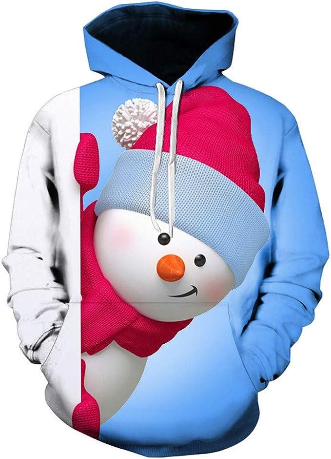 Spaß Fun Weihnachten Winterpulli Herren Damen Sweatshirt Hoody Pullover