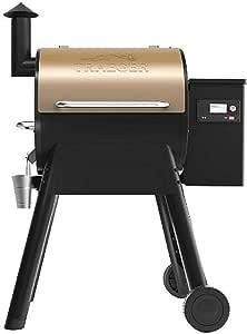 Outdoor Wood Pellet BBQ Grill. Pro 575 Smart Phone ...