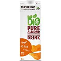 ブリッジ 有機アーモンドドリンク(増粘剤・砂糖不使用) 1000ml 有機JAS認定