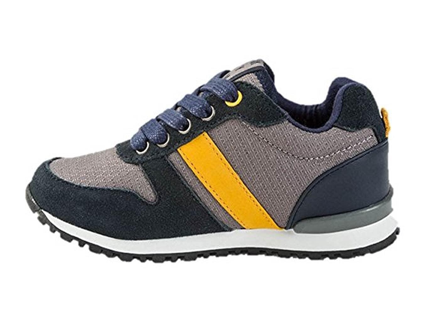 9094a294ffbb4 Mayoral 44805 -Tenis Running Combinado Niño Cordones Azul (37)  Amazon.es   Zapatos y complementos