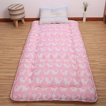 FUIOLWP colchón Acolchado/colchón Tatami/colchón/colchones Dormitorio Estudiante/./Cama matrimonial/Sleeping Pad-L 90x200cm(35x79inch): Amazon.es: Hogar