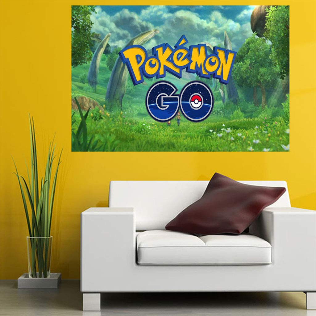 Bit Better Pokémon Go Cute 3D Design Pinted Wallpaper Sticker ...