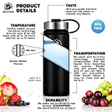 Stainless Steel Water Bottle/Thermos: 18
