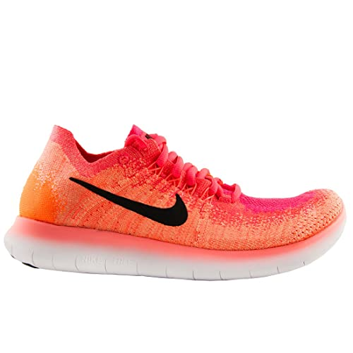 8b6511ad9 NIKE Womens Free RN Flyknit 2017 Size 7.5 Bright Mango Racer Pink  Amazon.co .uk  Shoes   Bags