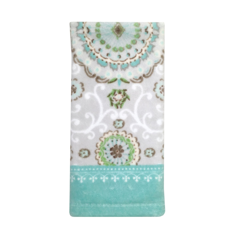Camden Printed Bath Towel Bardwil Linens 5776BTHTOWGRY