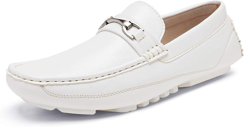 Bruno Marc Men's Driving Moccasins Penny Loafers Slip on Loafer Shoes