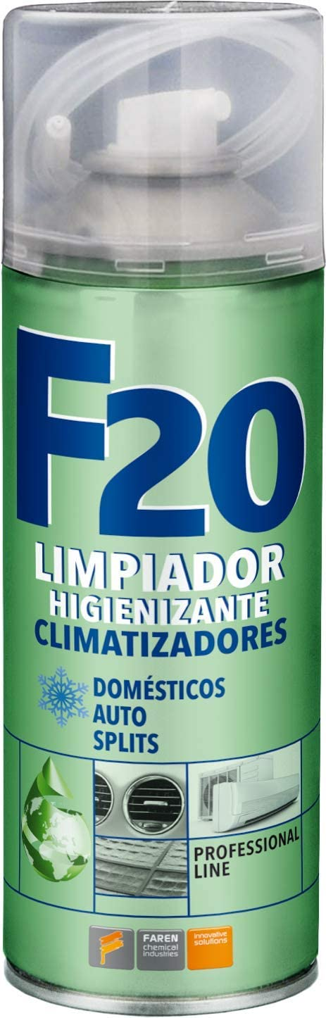 Faren 991003 Higienizante para climatizadores, Translúcido