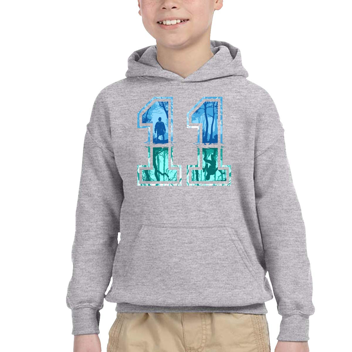 WER7 Kids Boys Girls 3D Print Athletic Pullover Fashion Hoodie Hooded Sweatshirts