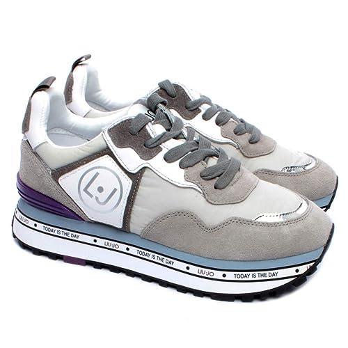 Liu Jo Donna Sneaker Grigio MOD. LIUBXX051 41: Amazon.it