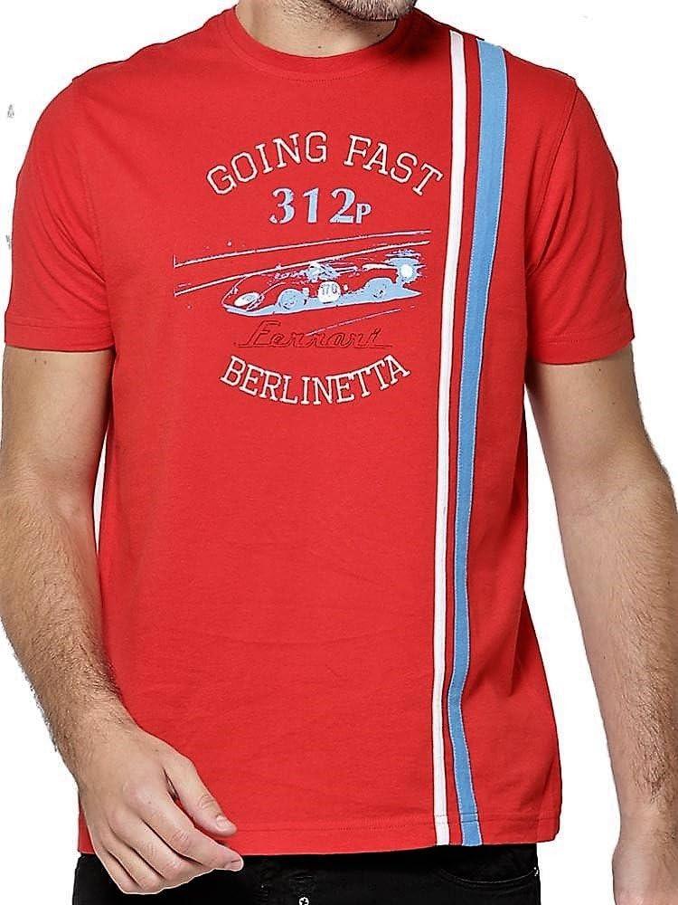 Ferrari Sportscar Berlinetta Vintage GT Racing 1969 312p - Camiseta para hombre, color rojo., Hombre, rojo, Medium: Amazon.es: Deportes y aire libre