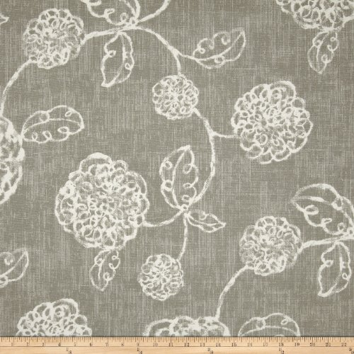 Magnolia Home Fashions Adele Slate Fabric By The Yard (Slate Fabric Handbags)