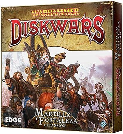 Edge Entertainment Warhammer: Diskwars - Juego de Mesa EDGWHD02: Amazon.es: Juguetes y juegos