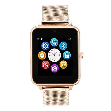 QHJ Bluetooth Smart Watch Reloj Inteligente Reloj de pulsera pulsera de fitness Tracker Reloj Deportivo con