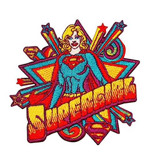 - Application Supergirl Star Action Patch