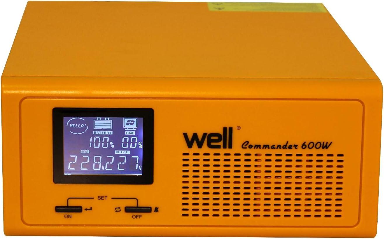 para centrales térmicas Commander de 230 V / 600 W.