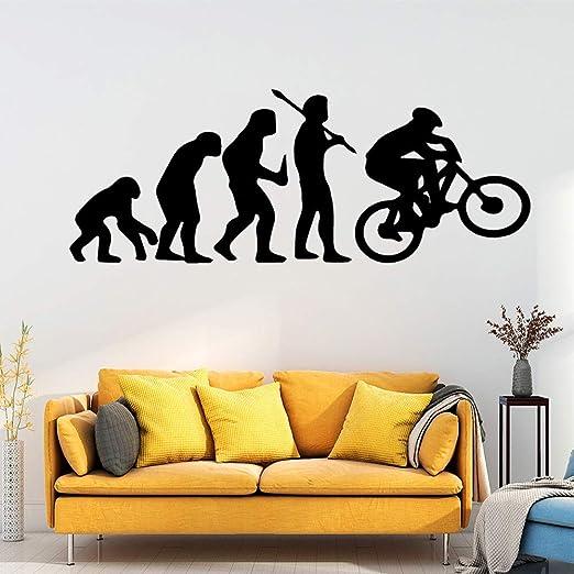 Dongwall Nueva evolución Bicicleta Vinilo Papel Pintado Rollo ...