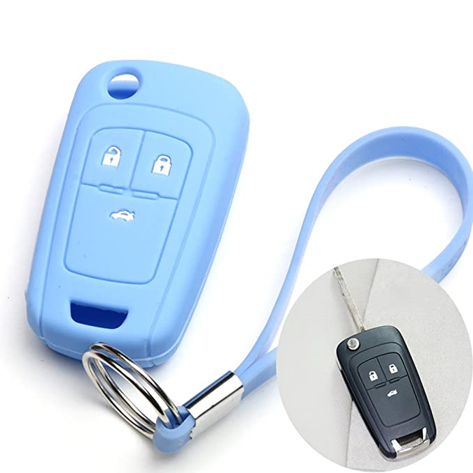 Amazon.com: Coche Smart Remote Key Fob de silicona protector ...