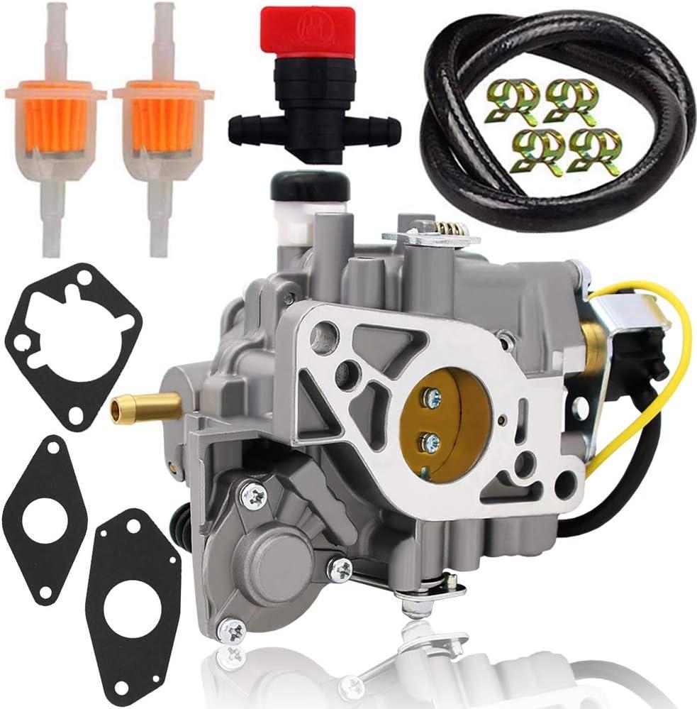 2485334S Carburetor for Kohler 24-853-34-S 2485334S 2485334 2485334-S 2485315 2405334 John Deere No. AM129716 Fits Kohler CH20 CH22 CH25 CH26 CH640 Models
