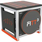 New Image Unisex's FITT Cube Total Body Workout, High Intensity Interval Training Machine, Black