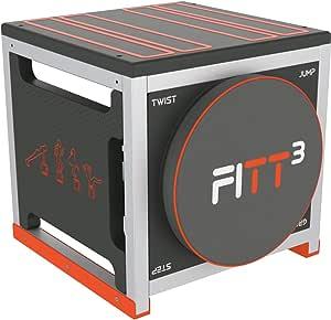 New Image Fitt Cube Corporal Total, máquina de Entrenamiento de intervalos de Alta intentencia, Unisex Adulto, Negro, Cubo