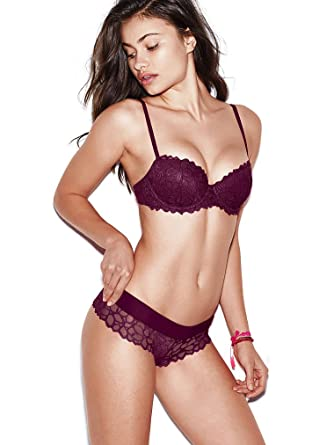 a8a7eb20cf20c Image Unavailable. Image not available for. Color  Victoria s Secret PINK  The Date Push-Up Bra ...