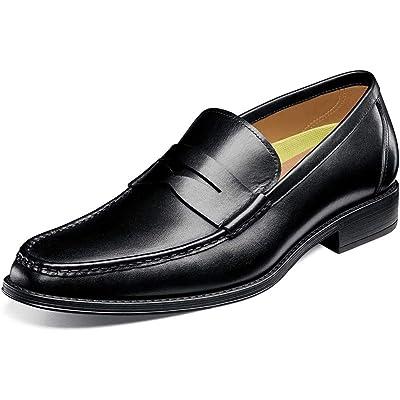 Florsheim Mens Amelio Moc Toe Penny Loafer   Loafers & Slip-Ons