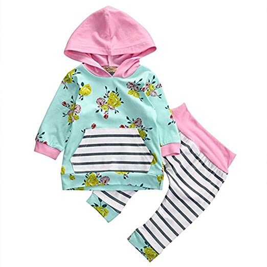 279e3d2e31bd Amazon.com  Convinced8 Baby Girls Pants Set