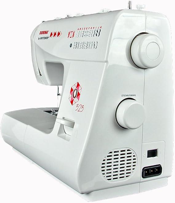 Gritzner Máquina de Coser Dorina 323 23 23 Puntadas de Utilidad y ...