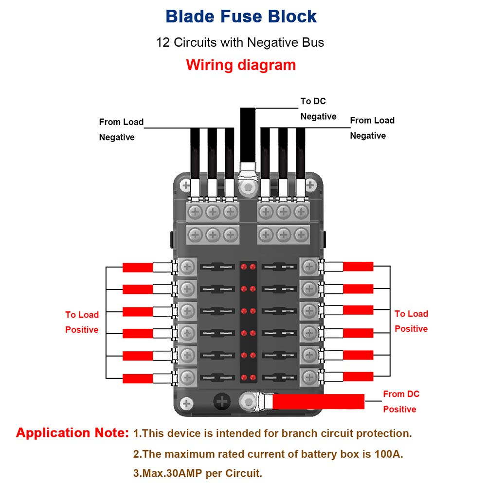 WRG-1056] Dc Fuse Block Wiring Diagram on
