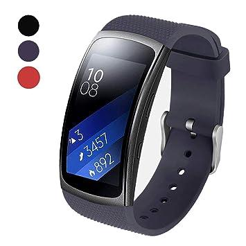 BeYself Samsung Gear Fit2 Pro / Fit2 Correa, Pulsera ...
