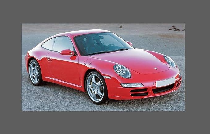 Porsche 911 997, Pair Rear QTR Clear Stone Chip Guard Paint Protection Films: Amazon.es: Coche y moto