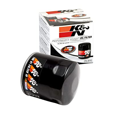 K&N Premium Oil Filter: Designed to Protect your Engine: Fits Select CHEVROLET/DODGE/FORD/JEEP Vehicle Models (See Product Description for Full List of Compatible Vehicles), PS-2010: Automotive