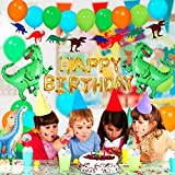 Dinosaur Party Supplies - 90 pcs for Birthday