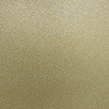 Best Creation 12-Inch by 12-Inch Glitter Cardstock, Gold Leaf