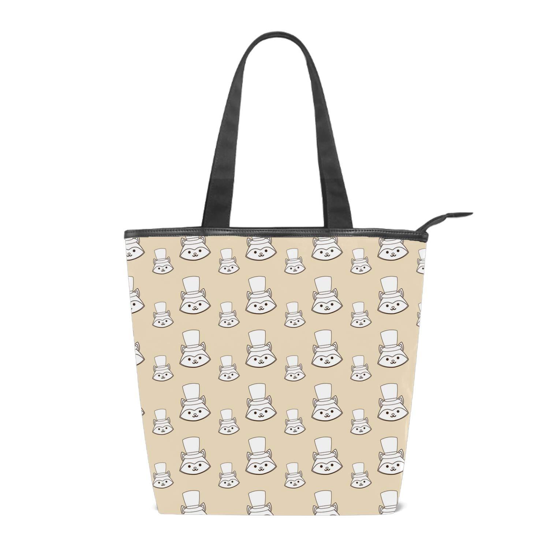Clearance Pocciol Women Girls Printing Canvas Shopping Handbag Shoulder Fashion Tote Shopper Bag Blue