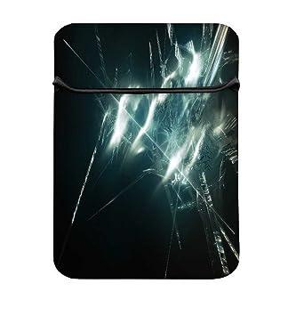 Snoogg Cristal Roto (17) fácil acceso funda acolchada para portátil carcasa funda bolsa: Amazon.es: Electrónica