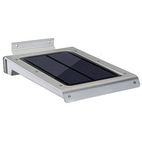 Lampara Solar con Detector de Movimiento, YOKKAO 46 LEDs Ultra-Thin a Prueba de