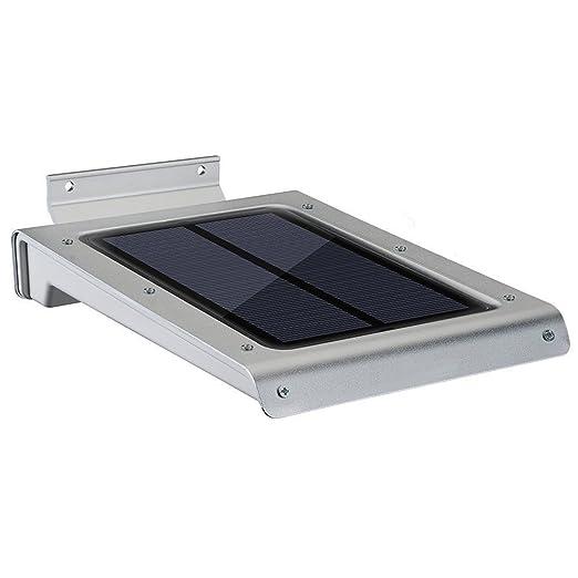 17 opinioni per Lampada Solare Ultra-Slim, YOKKAO Luce con 46 LED con Valutazione Impermeabile