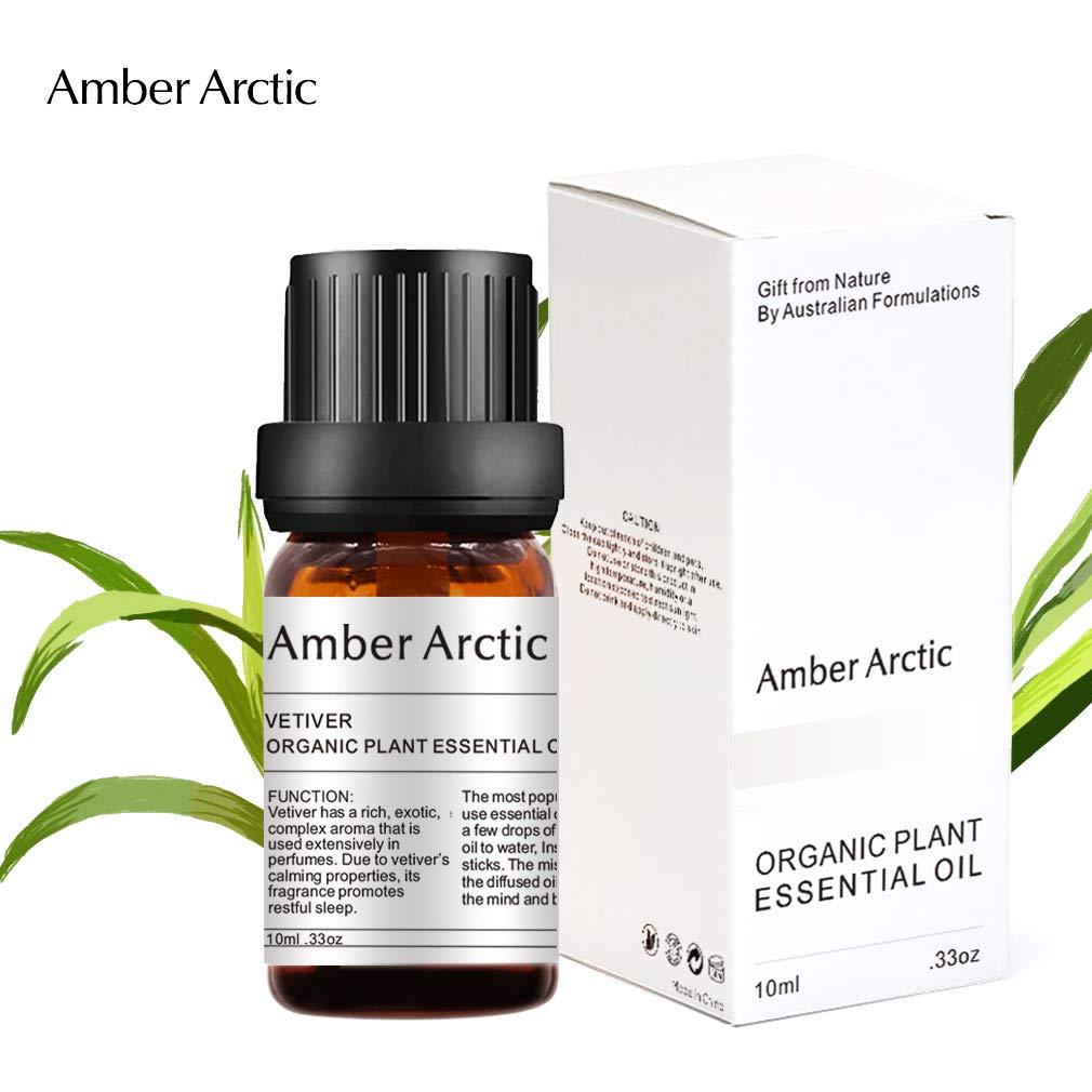 Vetiver Essential Oil, 100% Pure Natural Aromatherapy Vetiver Oils for Diffuser (10ML) essential oils for babies Essential oils for babies – sleep-inducing essential oils 61s1F1ltGgL