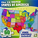 Best United States Gifts Adults - United States of America (USA) Map - 60 Review