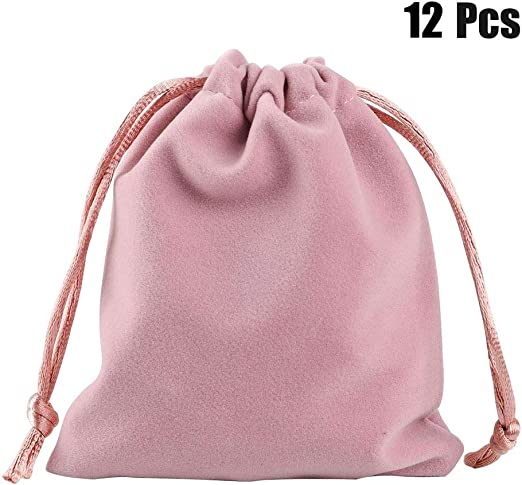 Beauty Drawstring Small Velvet Gift Bag Dice Storage Jewelry Pouch Pouch Bag