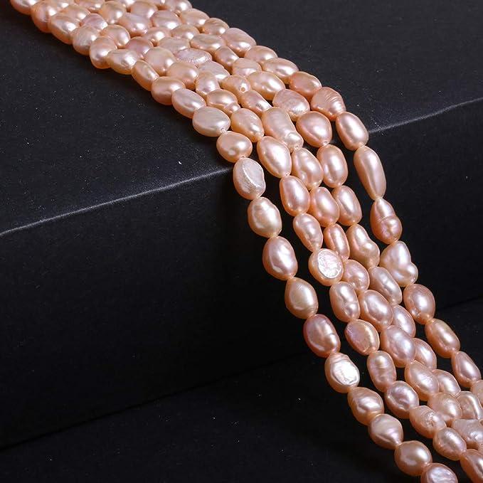 Natural Freeform Cross Reborn Freshwater Pearl Beads Jewelry Making 10 Pcs