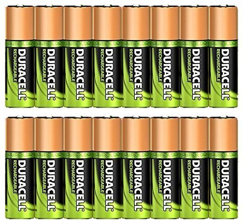 Duracell Rechargeable Ni-MH AAA 1000mAh Batteries 16 Pack -Bulk packaging- by Duracell